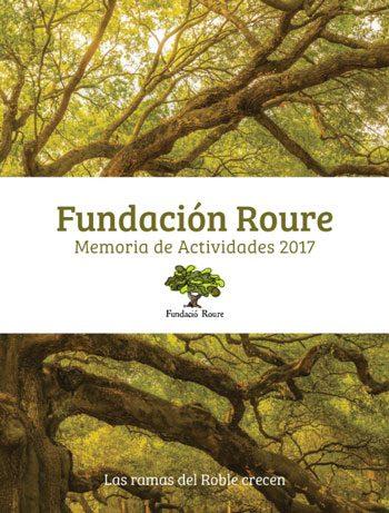 Fundació Roure - Memoria 2017