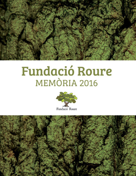 Memòria Fundació Roure 2016