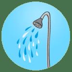 Icono servicio de duchas