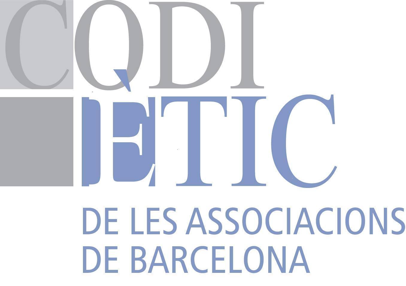 Logo Codi Ètic Associacions Barcelona